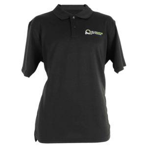 AlloyGator Branded Black Polo T Shirt